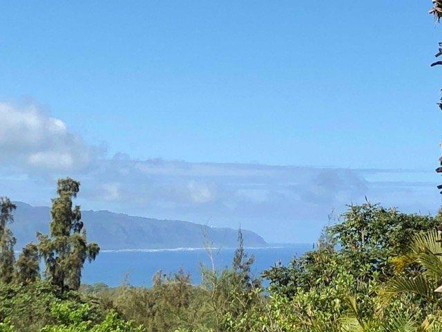 vista al mar desde la cubierta