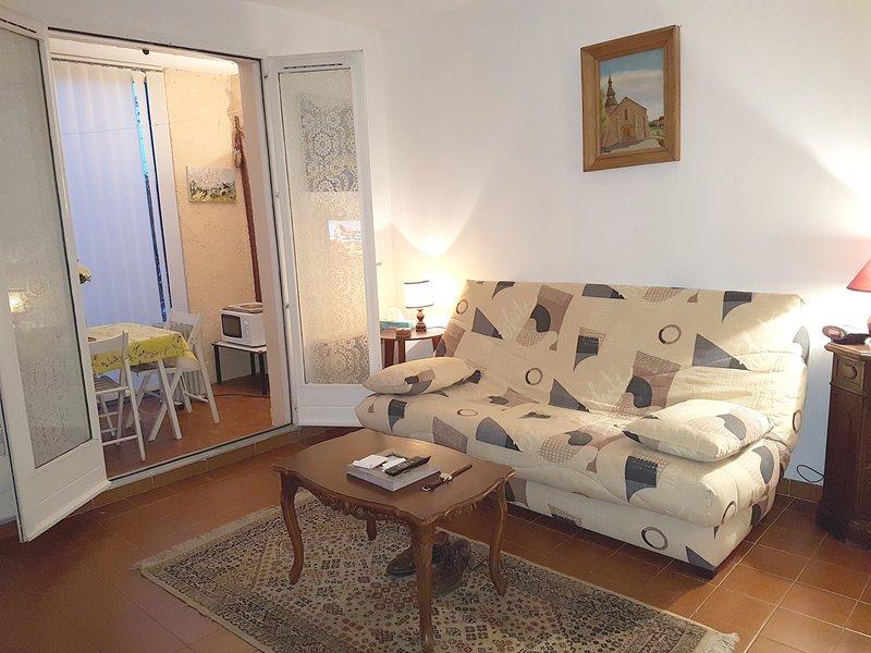 Nice studio near the beach & garden, vacation rental in Saint-Mandrier-sur-Mer