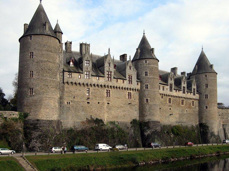 Magnificent castle of Josselin