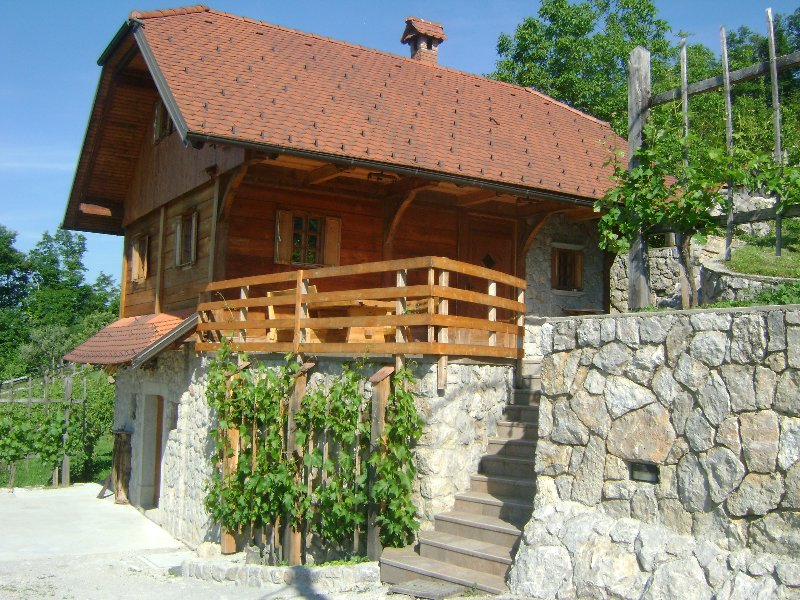 Vineyard Cottage Med Vinogradi, casa vacanza a Sevnica