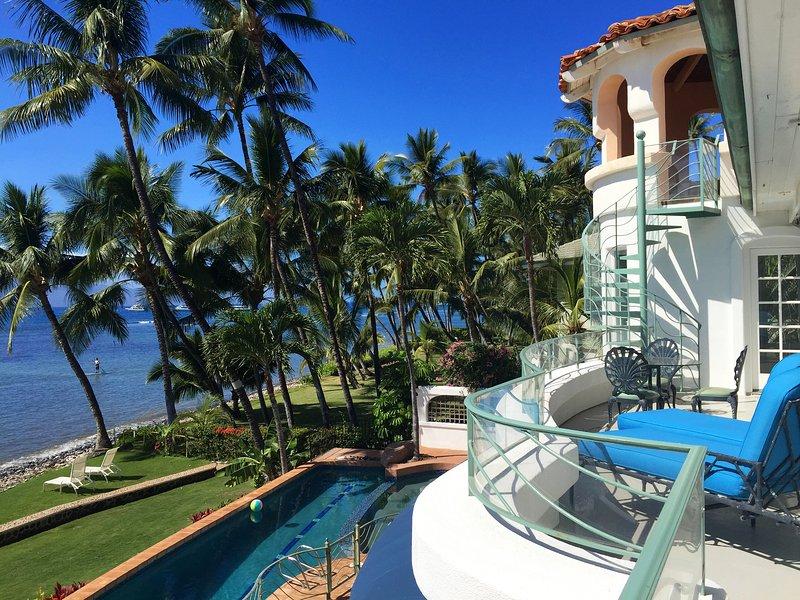 Blue Sky Villa Maui sulla spiaggia di Lahaina, Hawaii