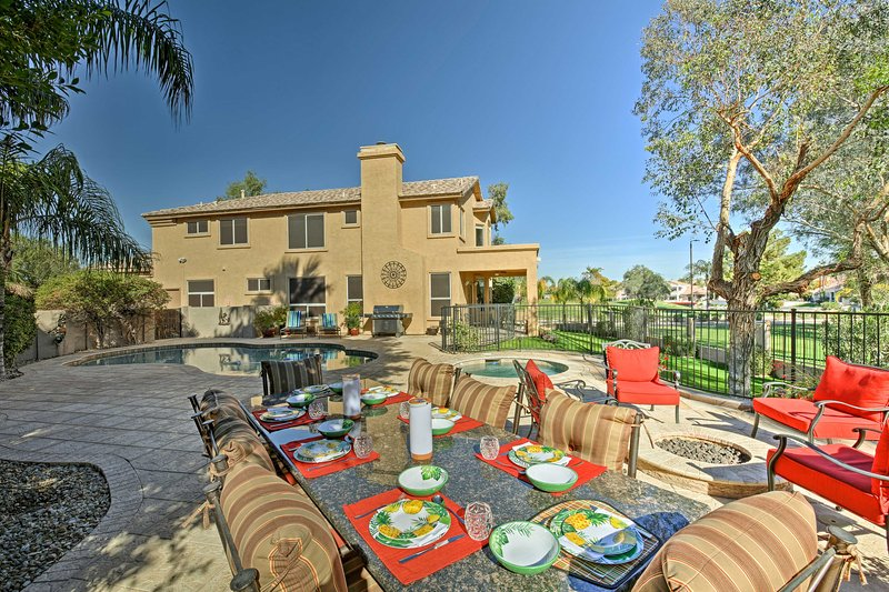 Restore your sense of peace while staying at this Chandler vacation rental house