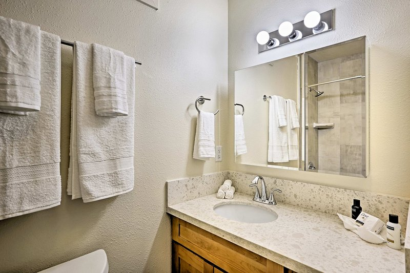 Bleiben Sie frisch für den täglichen Exploits im Badezimmer.