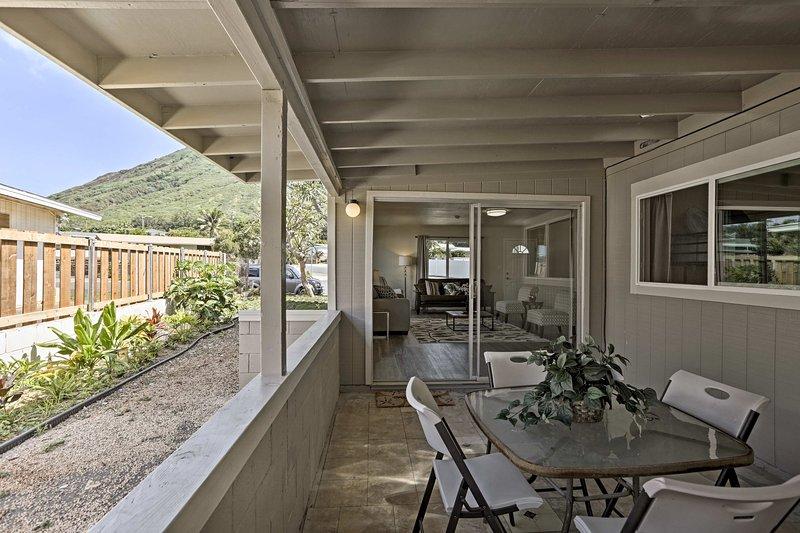 Diese helle und luftige Behausung ist der perfekte Ort, um nach Abenteuer zu entspannen.