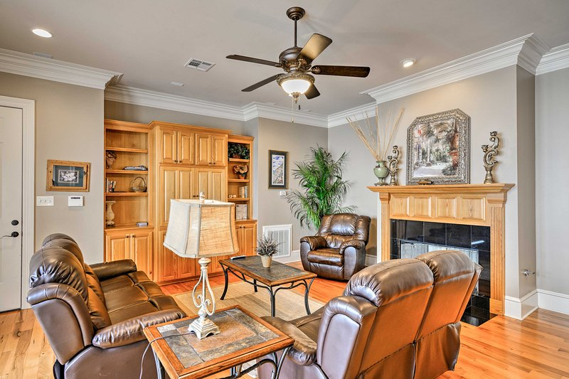 This newly built home boasts 2,800 square feet of well-appointed living space.