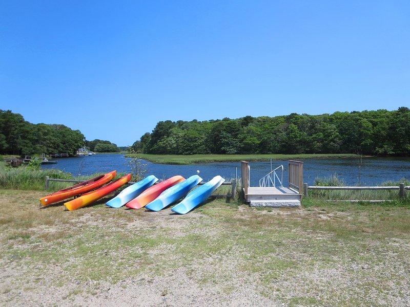 Alquile un kayak y disfrute de un día en el agua - Harwich Cape Cod New England Vacation Rentals