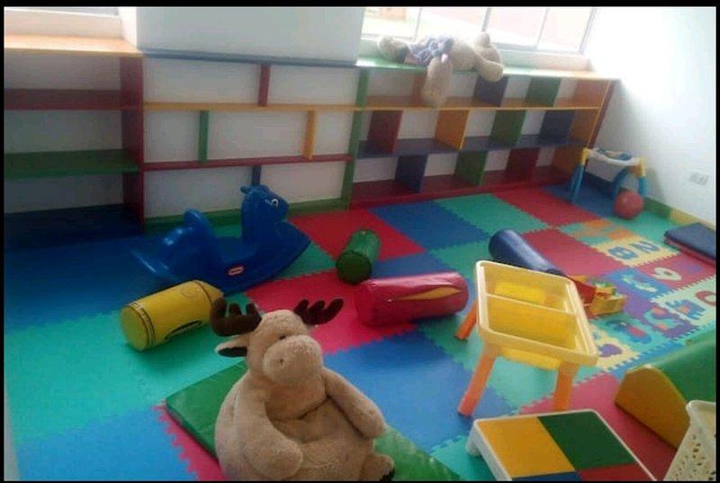 Children's playroom / Salon de juegos