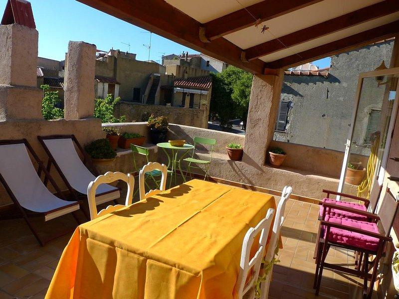 Beautiful house with terrace & Wifi, location de vacances à Pigna
