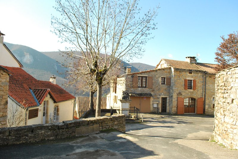 Amazing house with mountain view, location de vacances à Compeyre