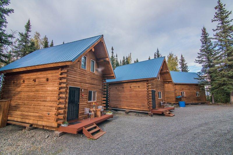 Sterling Log Cabin in Community on The Kenai River, aluguéis de temporada em Sterling