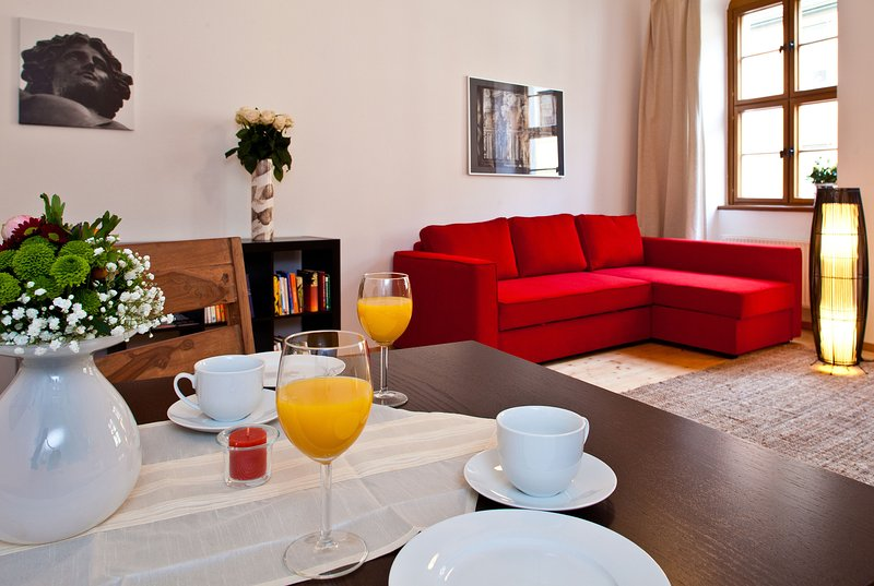Sehr zentral und ruhig - komfortable familienfreundliche Gästewohnung, alquiler de vacaciones en Dresden
