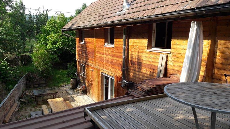 Gite aux Bambous - studio Duplex Arbois, holiday rental in Salins-les-Bains