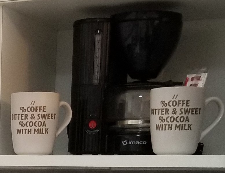 Complimentary Coffee & Tea