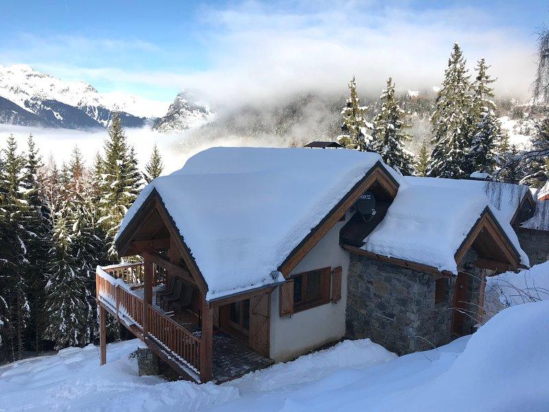 Chal'Oz en la nieve