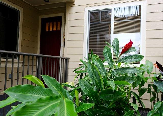 Les plantes tropicales vous souhaitent la bienvenue