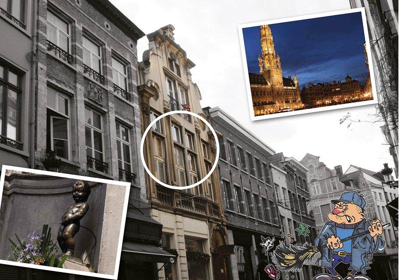 Pulpifornia Brussels 2, holiday rental in Saint-Jans-Molenbeek
