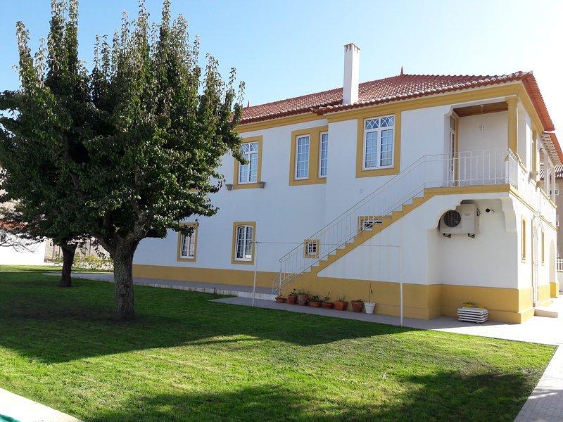 Vista della casa Solar da Vila e giardino privato.