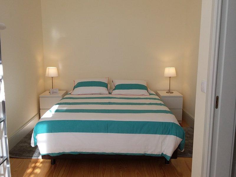 Blue room.