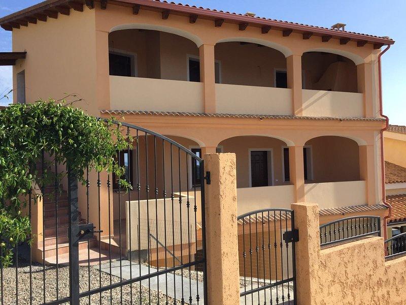 Apartment with large veranda