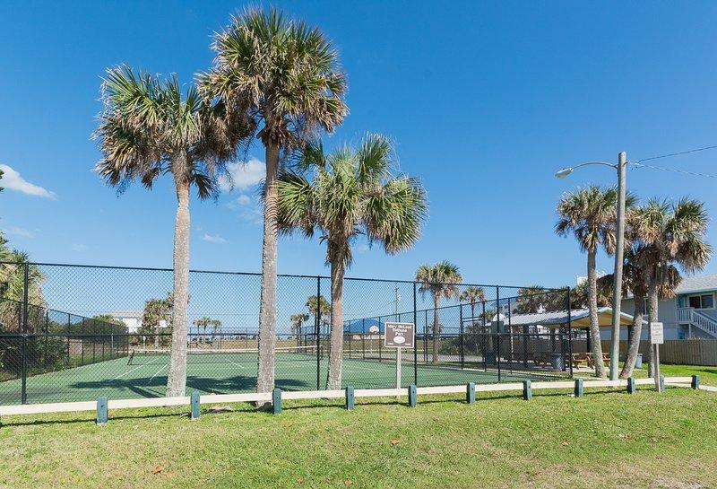 courts de tennis publics.