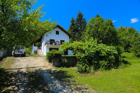 Vista casa de huéspedes Montaña