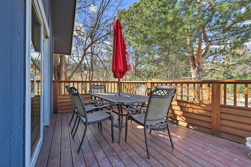 Your Boulder getaway begins at this 3-bedroom, 2-bathroom vacation rental home.