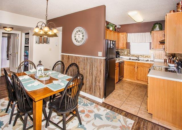 Essen für 6 Personen in der Cedar Lodge 303