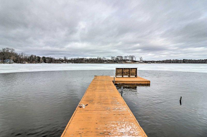 Saia para a doca para um dia de mergulho passou em todos o melhor de Great Bear Lake!