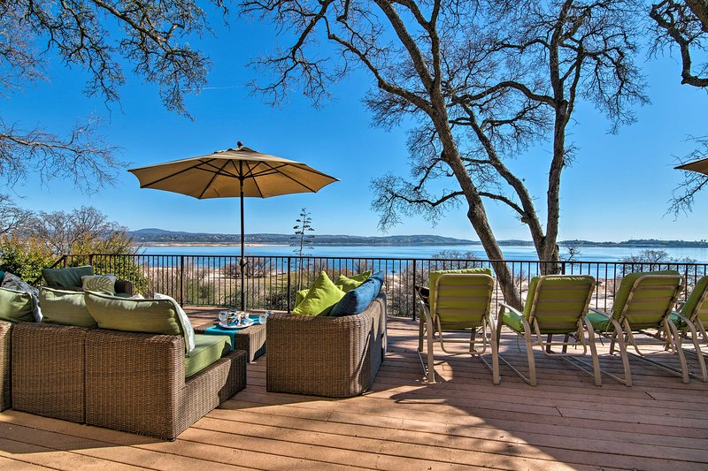 Plan a getaway to this stunning vacation rental house nestled on Folsom Lake.