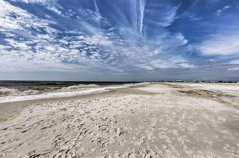A picture-perfect beach getaway at Dauphin Island awaits!