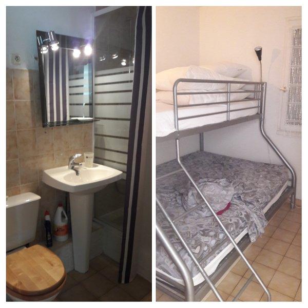 Bagno e camera da letto