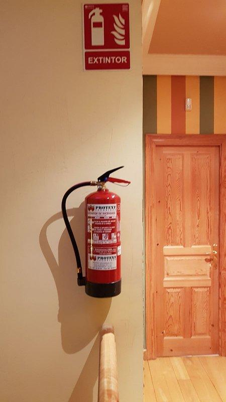 Extinguisher first floor