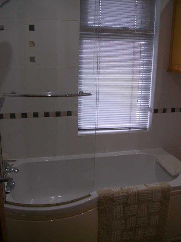 House Bathroom with overhead shower