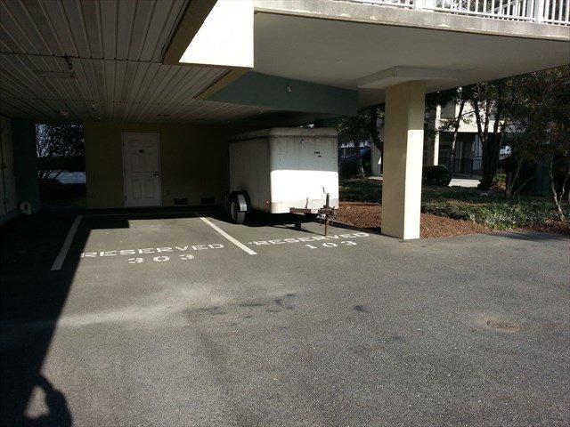 Convienent Under Builidng parking spaces