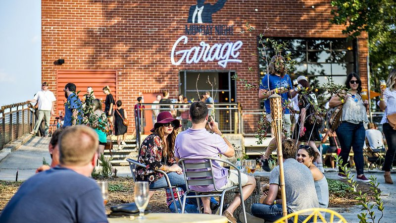 Atlanta's newest brewery, Monday Night Brewing Garage, is down the street on the BeltLine.