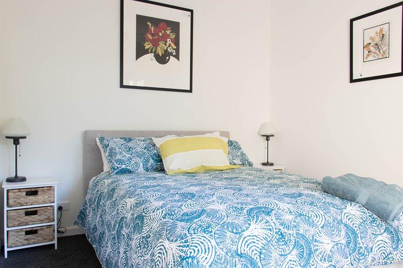 Super comfortable queen bedroom