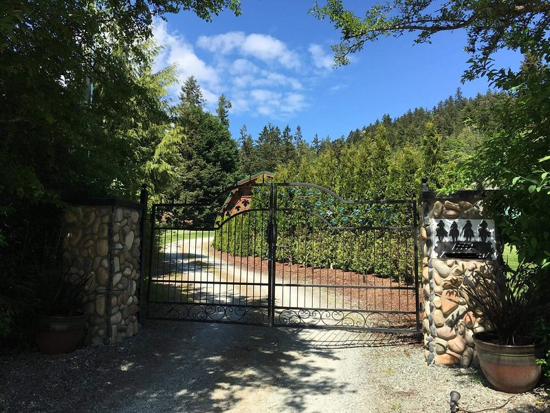 Entrance to our property.