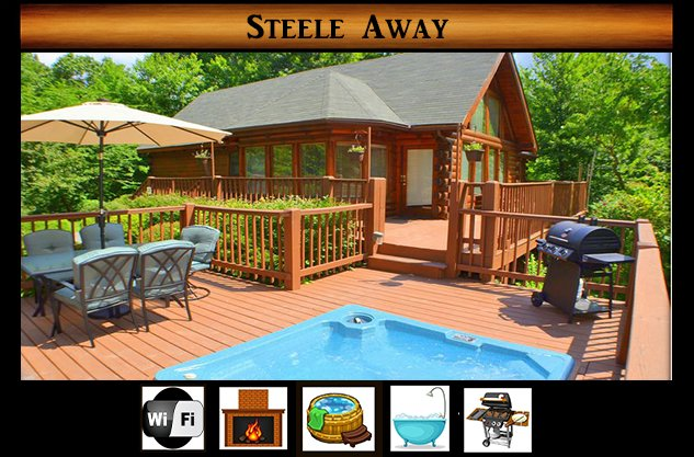 Steele Away, holiday rental in Sevierville