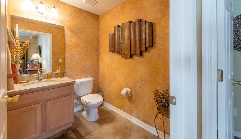 The Beautiful downstairs (half)  Bathroom