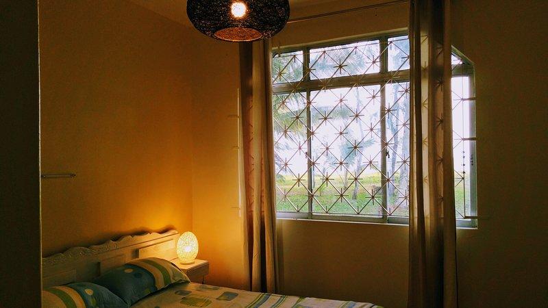 Slaapkamer 1 in de avond