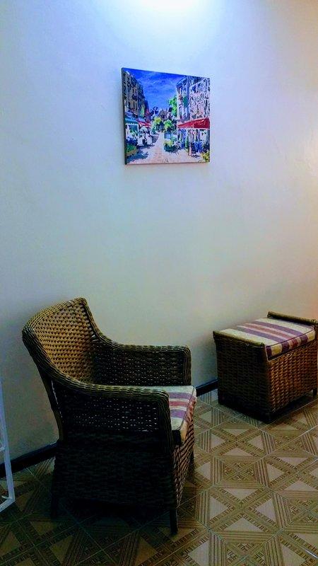 Rustieke Mauritiaanse fauteuils