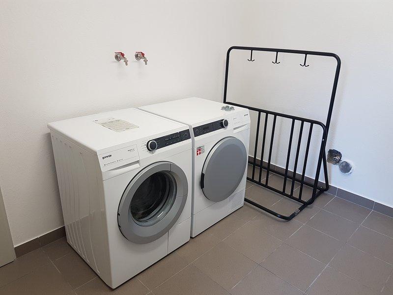 Servicio de lavandería disponible por una cuota de tiempo