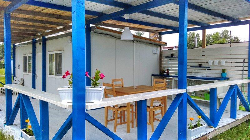 Вашето място,на 30м от плажа,сред зеленина и спокойствие,с полъх на морски бриз., vacation rental in Ahtopol