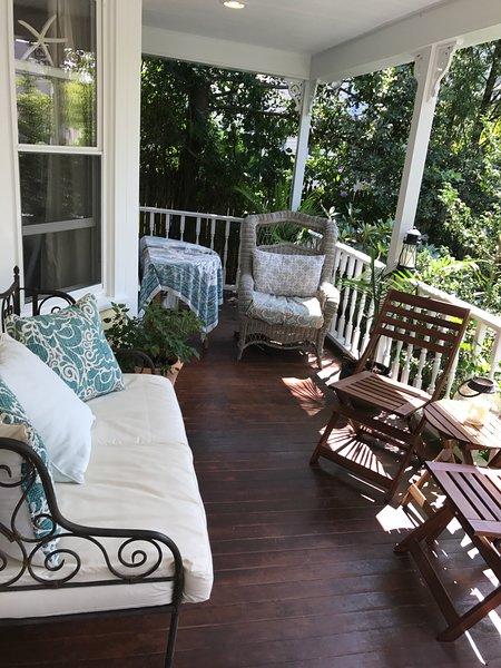 Front Porch Rain or Shine