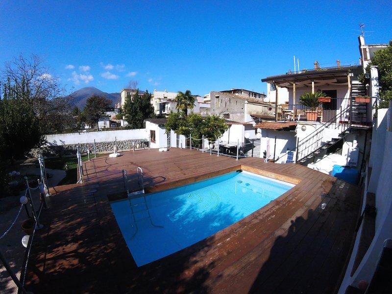 Terrazza sul VESUVIO - Mini Suite con piscina – semesterbostad i Ottaviano