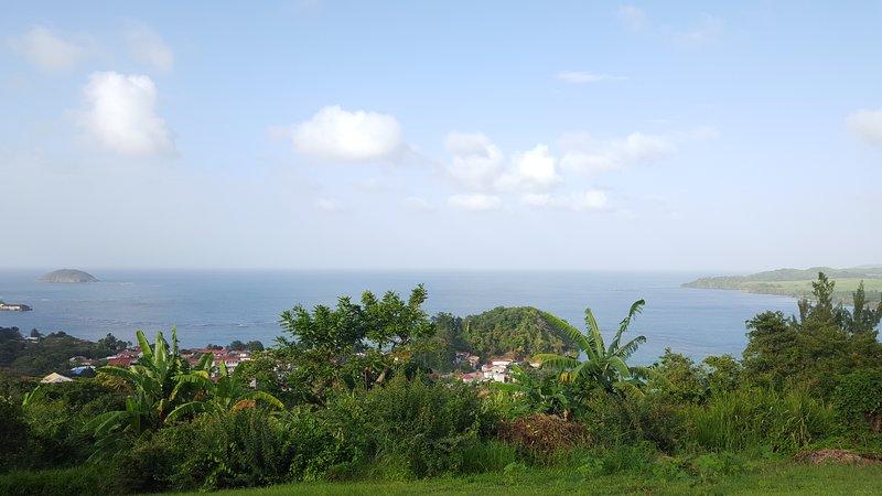 vista parcial al mar