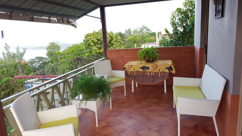 Beautiful house with sea view, vacation rental in La Trinite