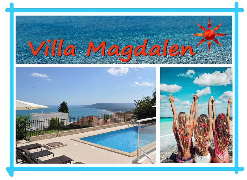 Spectacular villa with private pool - on top spot between Balchik and Albena, location de vacances à Rogachevo