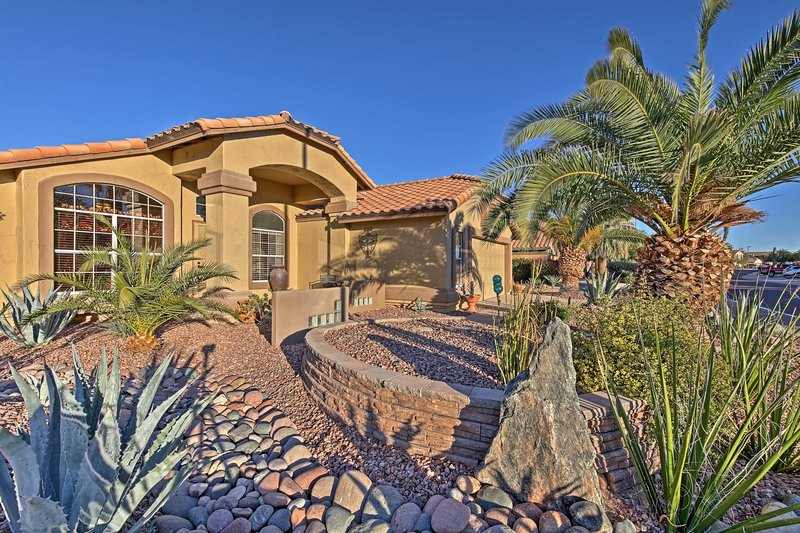 Discover the city of Goodyear from this vacation rental home!