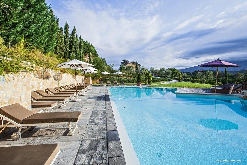 Relais Villa Belvedere 2 Bedroom Apartment, vacation rental in Ciliegi